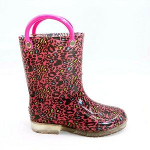 Jelly Beans Girls Kim Pull On Rain Boot 11 NEW